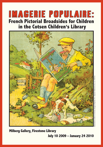 Museum-quality portfolio of facsimiles of Broadsides for Children cover