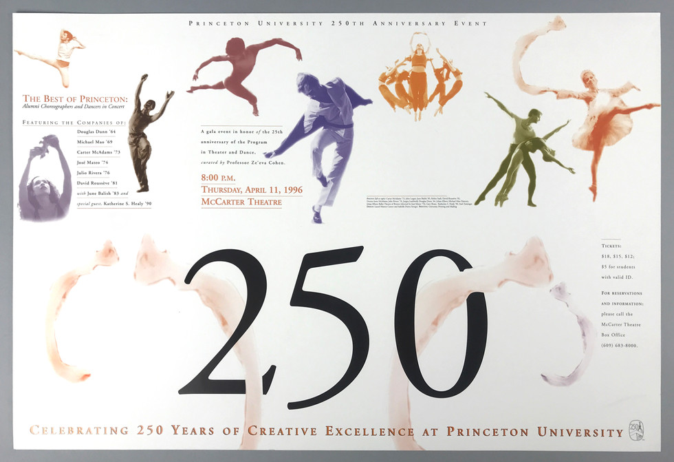 250 years celebration event poster