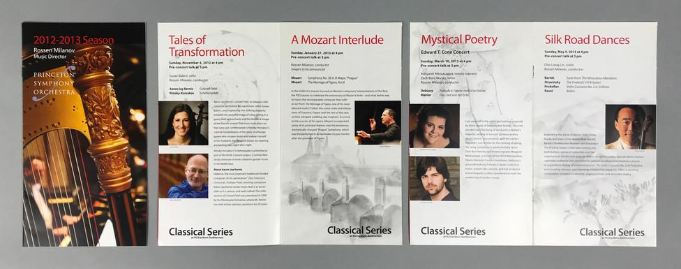 PSO Season Brochure