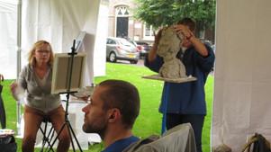 demonstratie portret boetseren