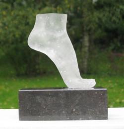 voet van glas