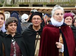 Desfile medieval. Baiona
