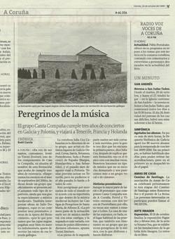 Articulo La Voz de Galicia