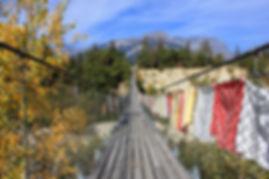 Auf der Bhutanbrücke