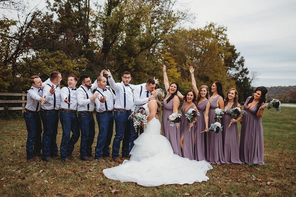 Outdoor Wedding Celebration - Brookdale Farms - Eureka, Missouri