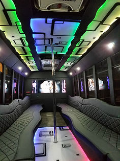 Centurion Limo Bus Interior - All About