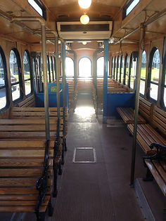 Trolley Limo Bus Interior - All About Yo
