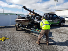 Quality Towing - Boat Pickup - Columbia,