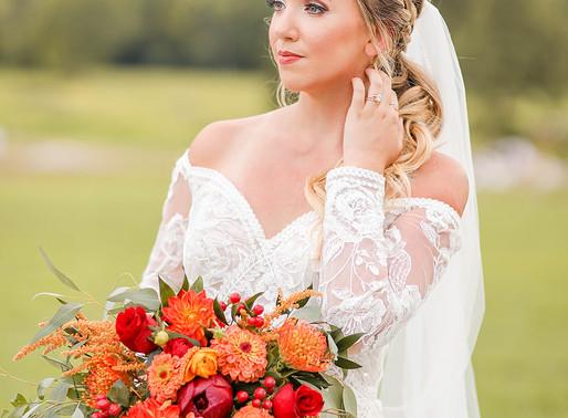 Fall Barn Wedding In Missouri
