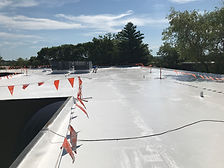 Silicone Roof Coating by Eureka Contract