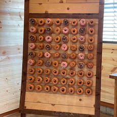 Donut-Pretzel Wall