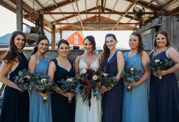 Bridal Party at Wicked Pony Ranch - Ditt