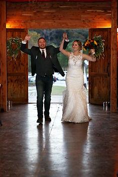 Bride & Groom at Wedding Reception - Wic