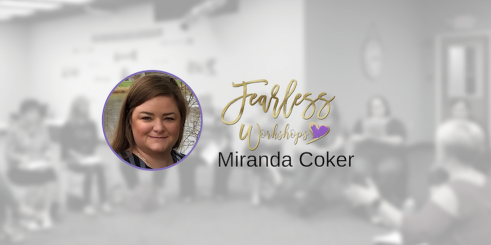 Workshop GET IN THE WORD with Miranda Coker