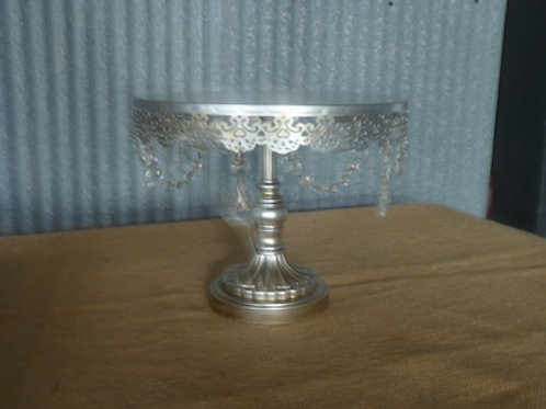 Silver Cake Stand - QTY 1