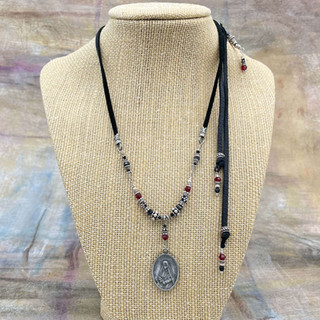 St. Frances Xavier Cabrini Medal Necklace After Custom Order by A Wear of Prayer