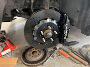 Brake replacement by Quality Collision R