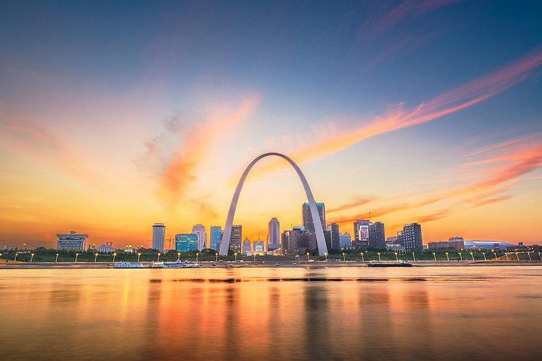 St. Louis, MO business cityscape