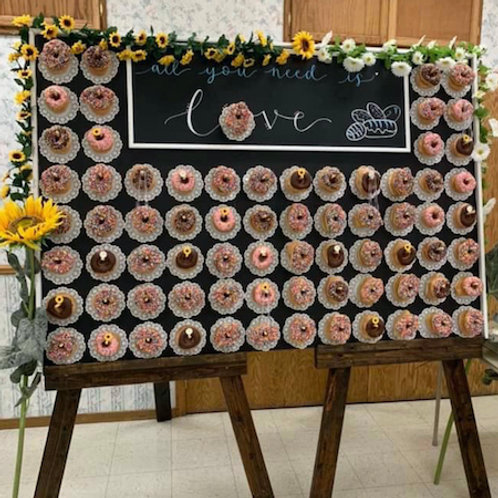 Sunflower Donut Wall