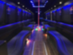 Excalibur Limo Bus Interior - All About