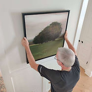 Hanging artwork and pictures - Design by