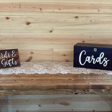 Cards & Gift Sign