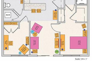 Goldilocks Solutions Sample floor plan