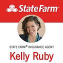 Kelly Ruby State Farm logo