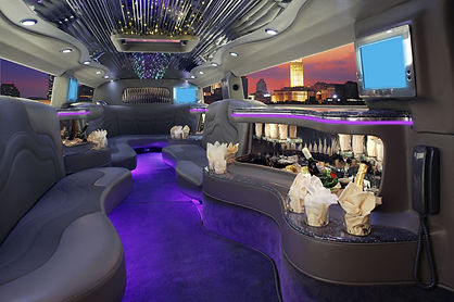 Krystal Hummer Limo Bus Interior - All A