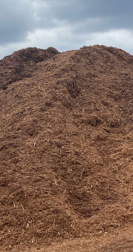 Mulch Pile at Madison County Wood Produc