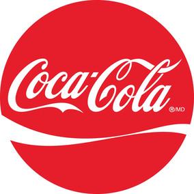 Coca-cola round logo
