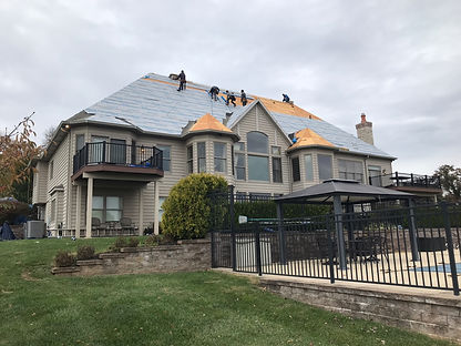 Roof Replacement by Eureka Contracting a