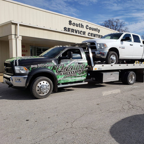 Vehicle Recover by Quality Towing - Colu
