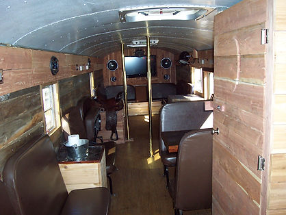 Western Limo Bus Interior - All About Yo