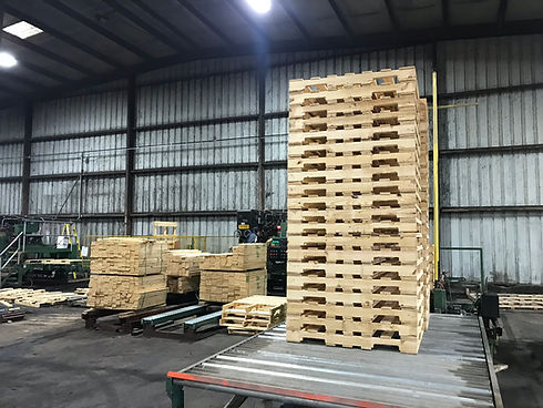 Quality pallets at Madison County Wood Products - Fredericktown, MO