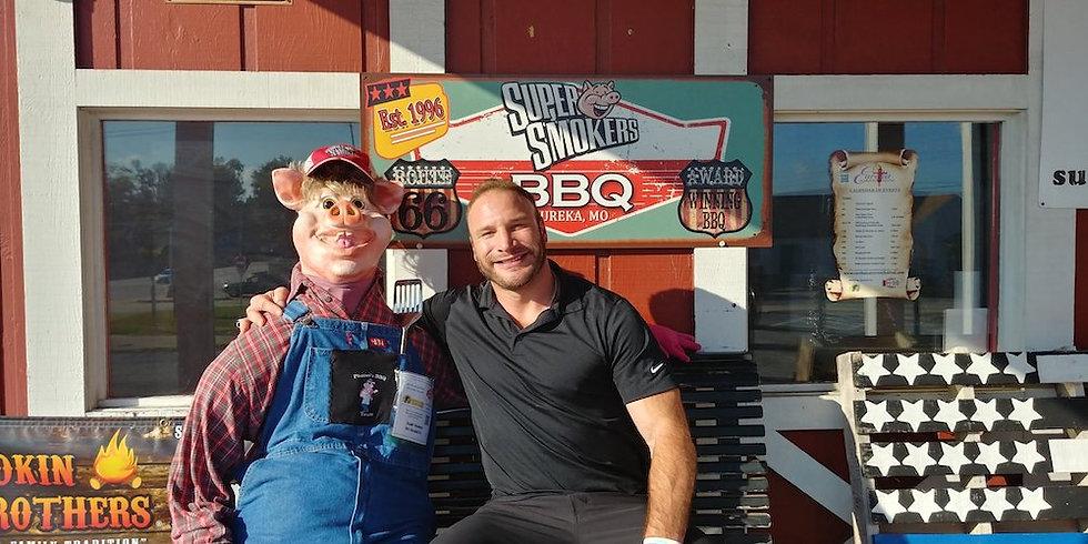 Scarecrow Contest Winner - Cam Janssen - St Louis Blues - Super Smokers BBQ