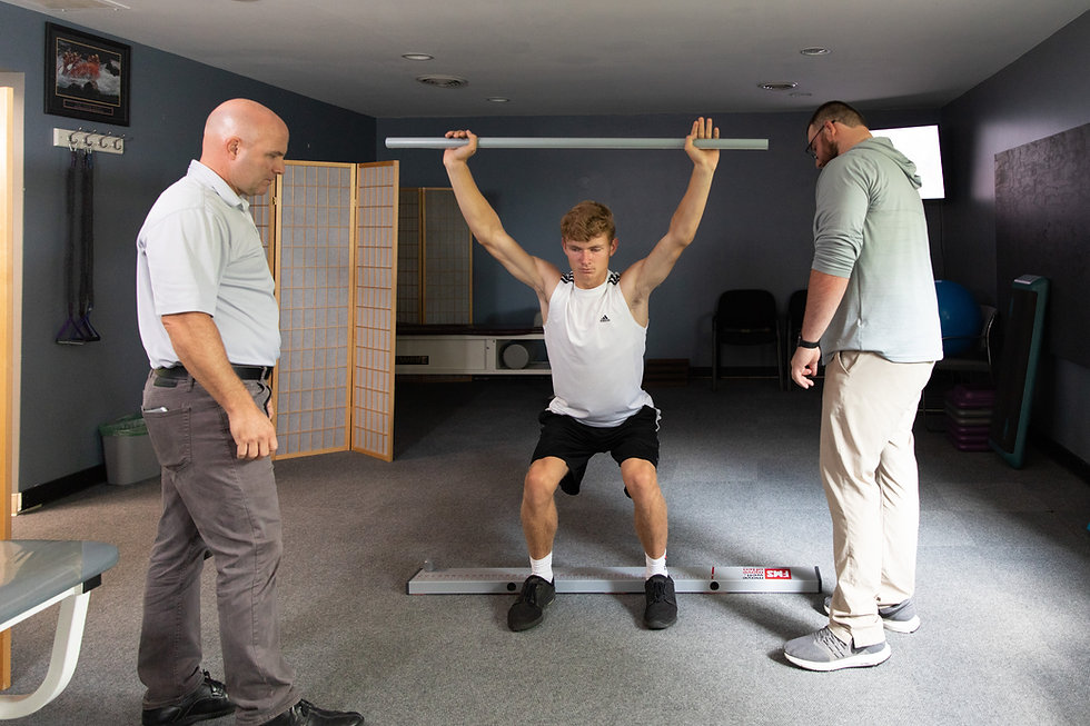 Sports Performance and Rehab at Comprehe