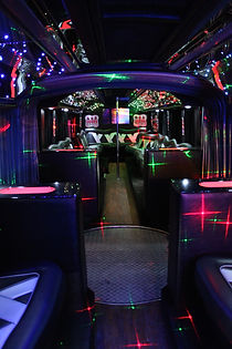 Serpent Limo Bus Interior - All About Yo