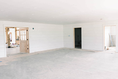 Entrance foyer with bathrooms and extra gathering space for your guests before your event