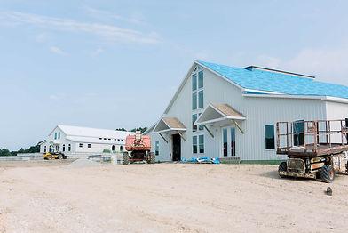 Red Oak Valley - White Barn