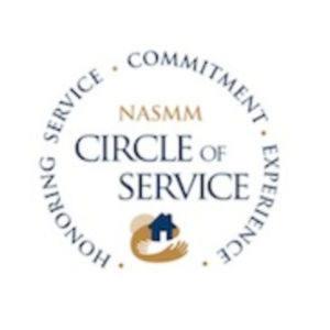 NASMM Circle of Service Award