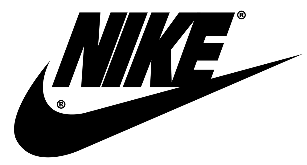 Nike with Swoosh logo