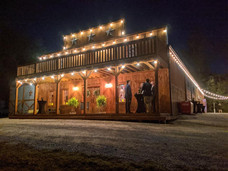 The Saloon at Night at Wicked Pony Ranch