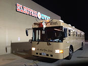 Wild Wild West Western Themed Party Bus