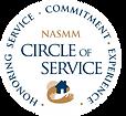 NASMM Circle of Service Member logo