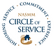 NASMM Circle of Service badge