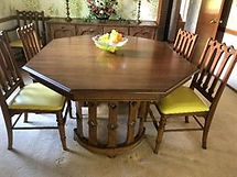 high-quality dinner table on consignment