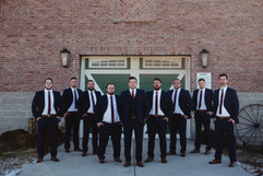 Groomsmen - Barn Wedding - Brookdale Far