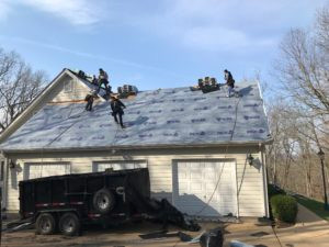 Have you tried walking on your own roof?