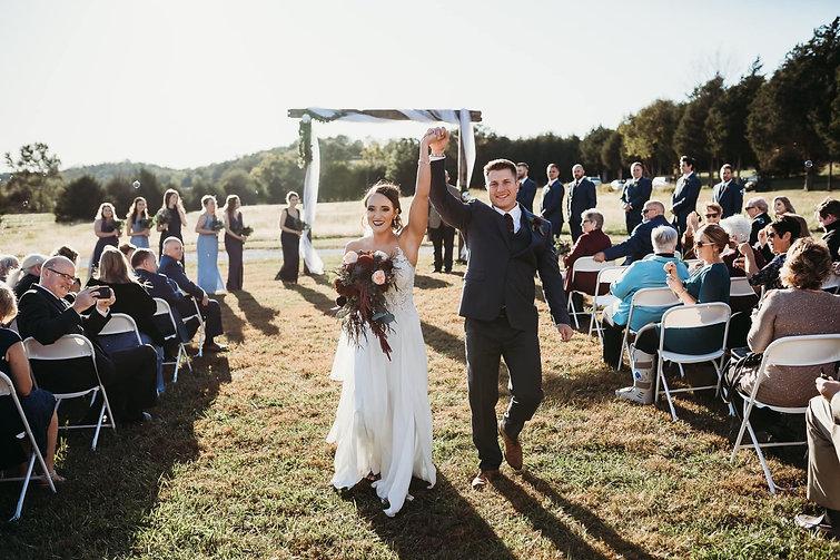 Beautiful Bride and Groom Wedding Ceremo